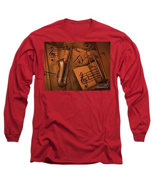 Midnight Music Long Sleeve T-Shirt