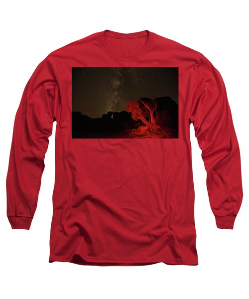 Milky Way And Juniper Long Sleeve T-Shirt