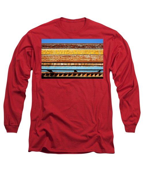Minimal Sundae Long Sleeve T-Shirt by Prakash Ghai