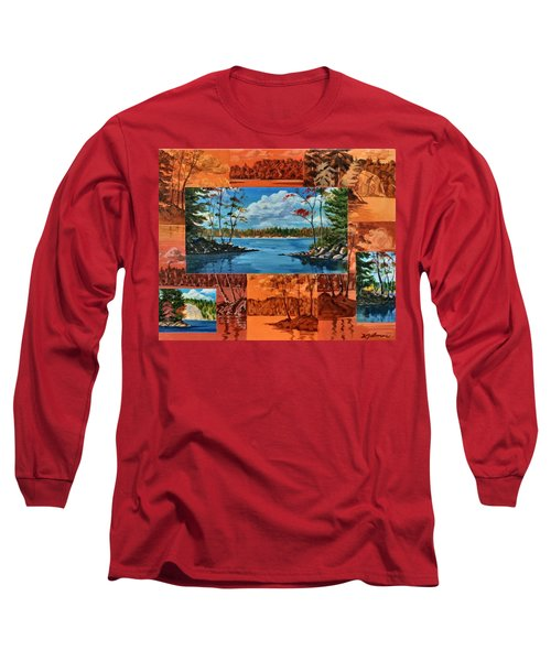 Mink Lake Looking North West Long Sleeve T-Shirt