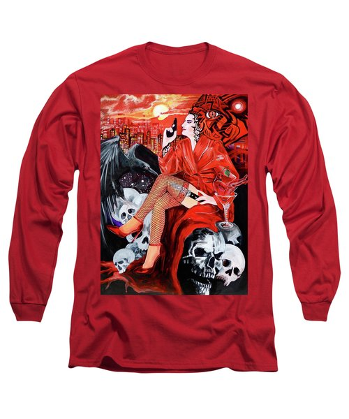 Mision Impossible Long Sleeve T-Shirt by Yelena Tylkina