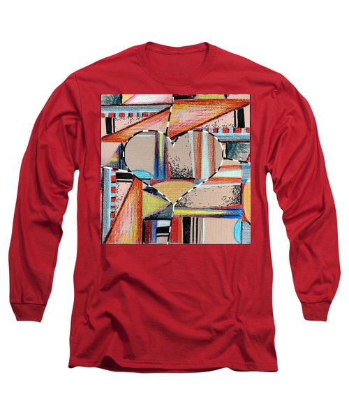 Mixed Messages Long Sleeve T-Shirt by Mindy Newman