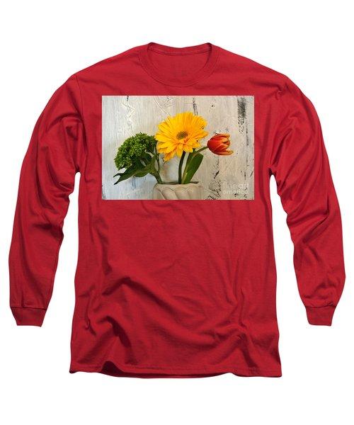 Long Sleeve T-Shirt featuring the photograph Modern Bouquet by Marsha Heiken