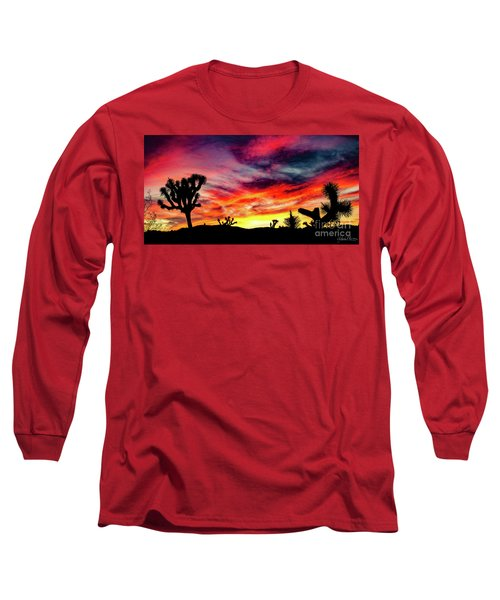 Mojave Sunset Long Sleeve T-Shirt