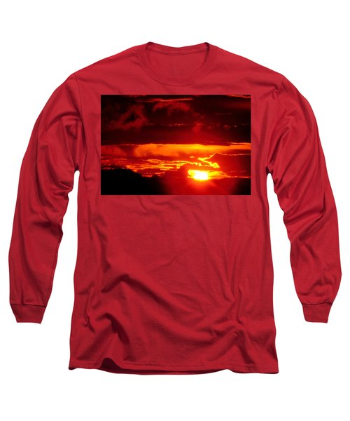 Moment Of Majesty Long Sleeve T-Shirt by Bruce Patrick Smith