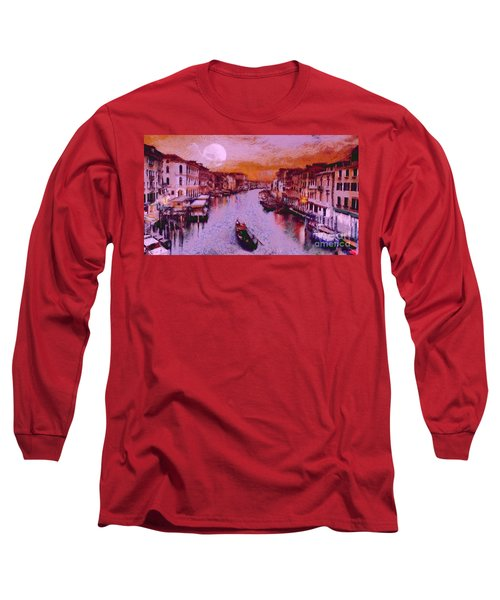 Monkey Painted Italy Again Long Sleeve T-Shirt