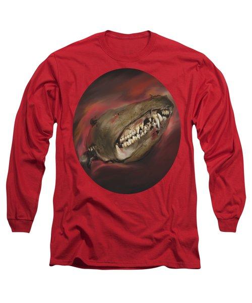 Monster Skull Long Sleeve T-Shirt