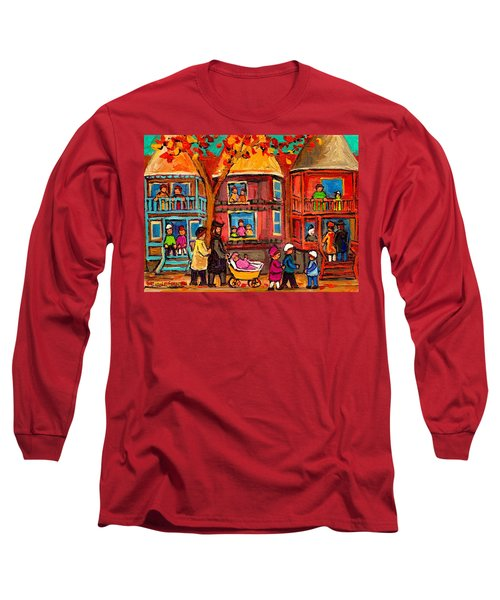 Montreal Early Autumn Long Sleeve T-Shirt