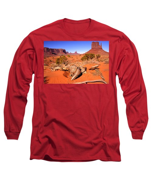 Monument Valley, Arizona, U S A Long Sleeve T-Shirt