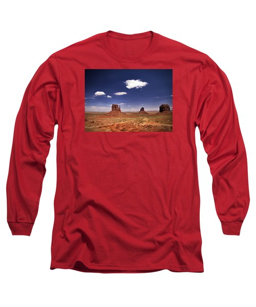 Monument Valley Long Sleeve T-Shirt by James Bethanis