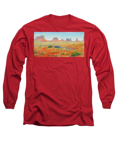 Monument Valley Vintage Long Sleeve T-Shirt