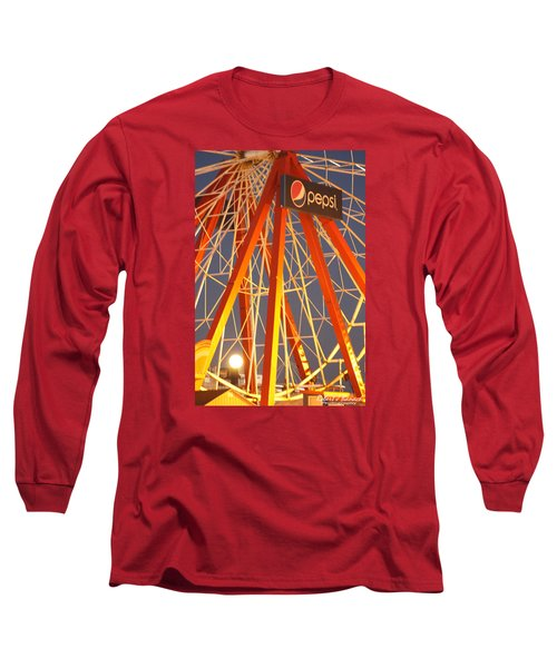Moon And The Ferris Wheel Long Sleeve T-Shirt