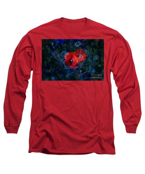 Moonlight Long Sleeve T-Shirt by Agnieszka Mlicka