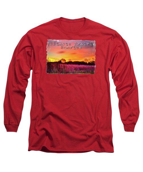 Moraine Hills At Sunrise Long Sleeve T-Shirt