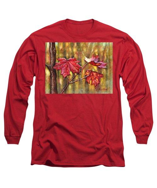 Morning After Autumn Rain Long Sleeve T-Shirt