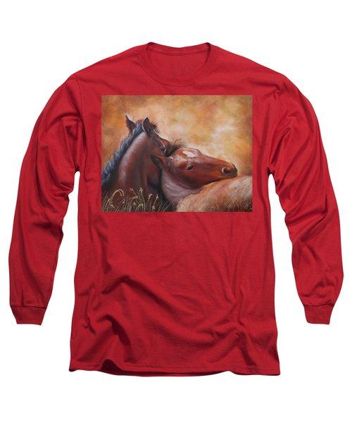 Morning Foals Long Sleeve T-Shirt