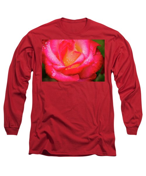Morning Rose For You Long Sleeve T-Shirt by Ken Stanback