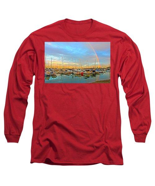Morton Bay Rainbow Long Sleeve T-Shirt