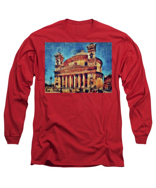 Mosta Church Long Sleeve T-Shirt