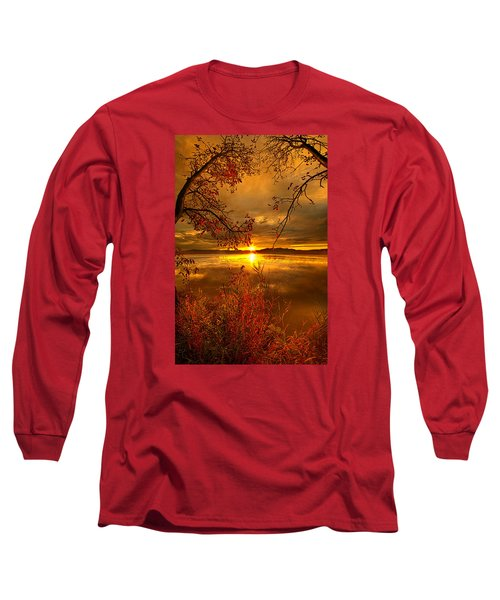 Mother Nature's Son Long Sleeve T-Shirt by Phil Koch