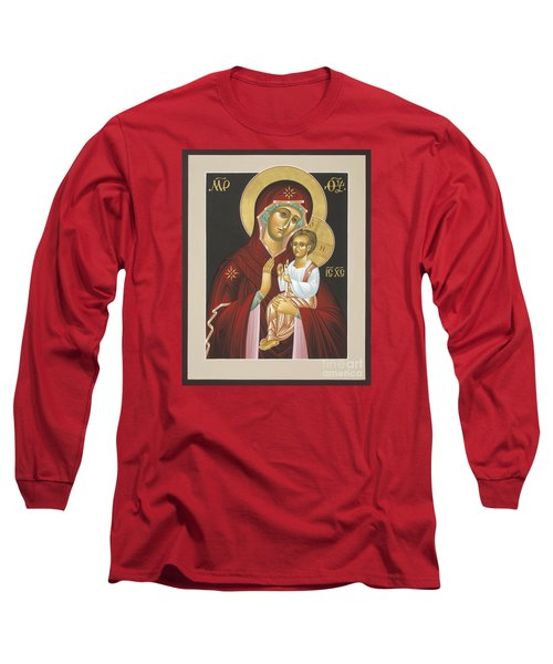 Mother Of God Light In All Darkness 016 Long Sleeve T-Shirt