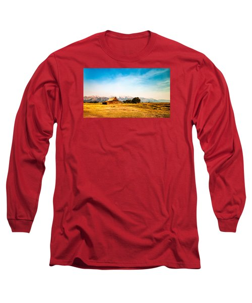Moulton Barn Long Sleeve T-Shirt by Cathy Donohoue
