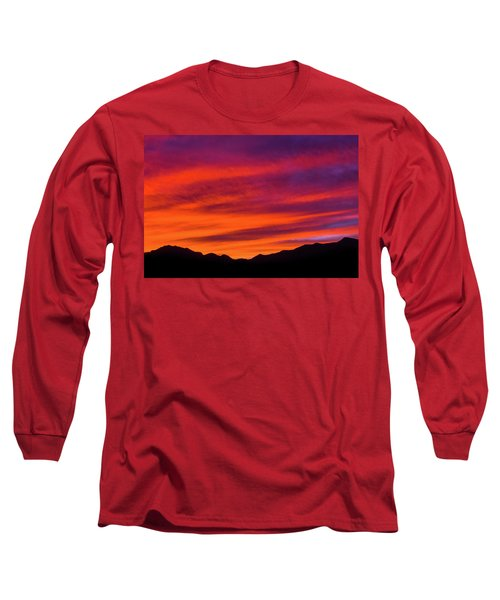 Mount Franklin Purple Sunset Long Sleeve T-Shirt