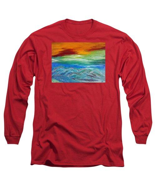 Mountains. Fantasy Long Sleeve T-Shirt