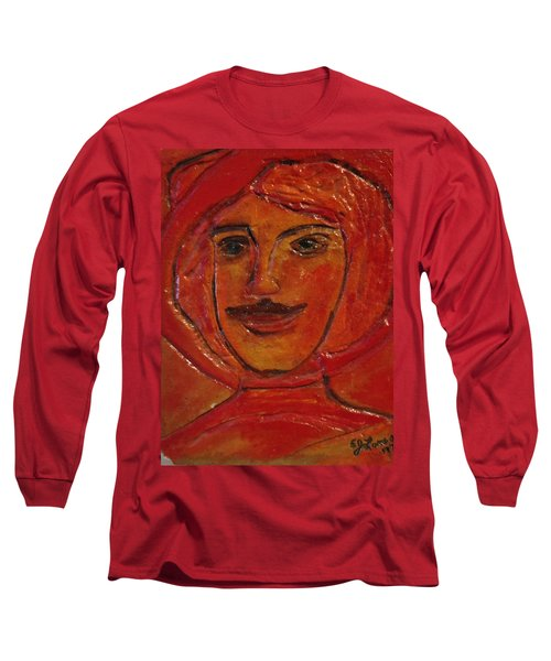 Moustached Prince Long Sleeve T-Shirt