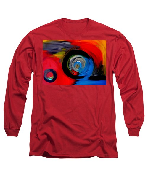Moving Through Time And Space Long Sleeve T-Shirt
