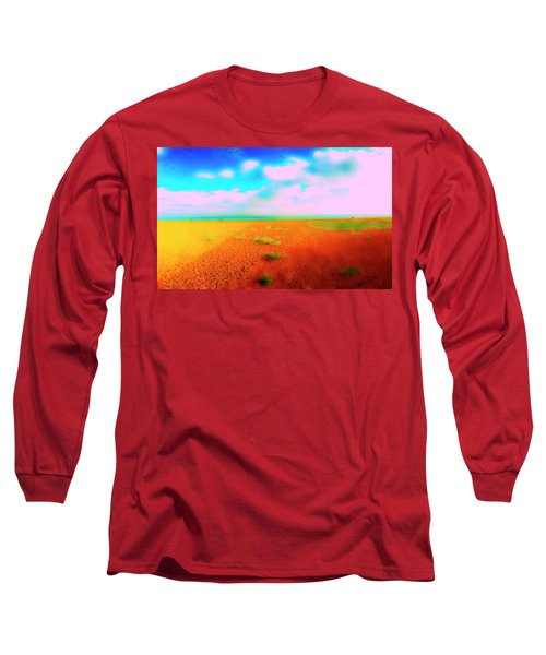 Mulberry Land Long Sleeve T-Shirt by Jan W Faul