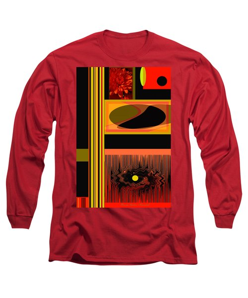 Mum Abstract 1 Long Sleeve T-Shirt