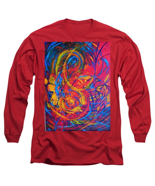 Music Long Sleeve T-Shirt by Jeanette Jarmon