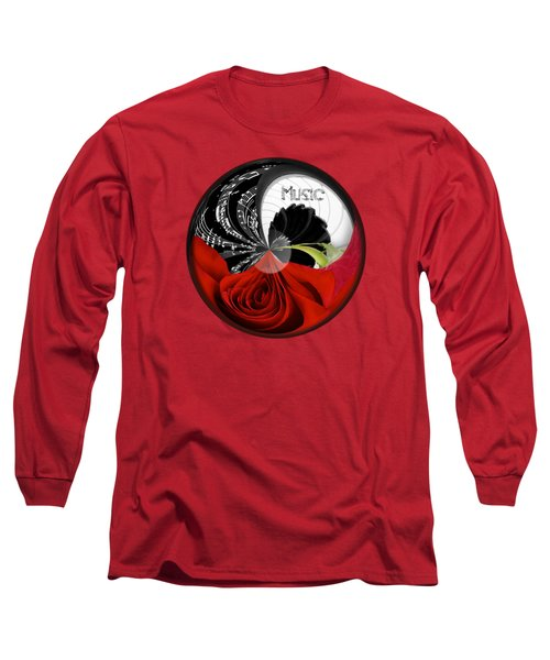 Long Sleeve T-Shirt featuring the photograph Musical Orb by Phyllis Denton