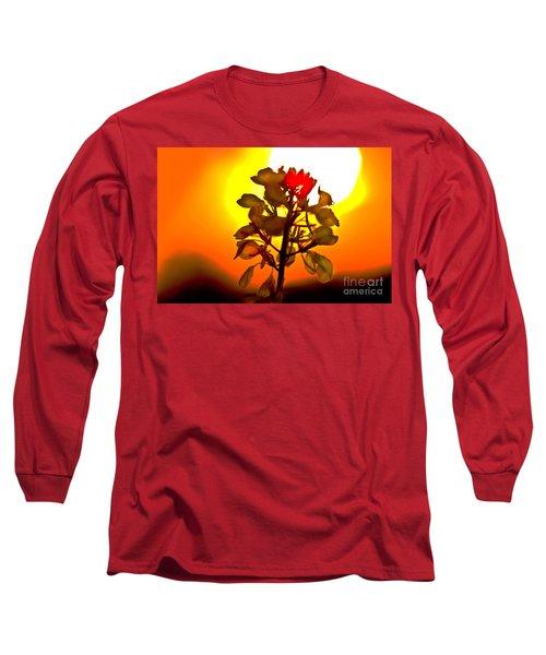 Mustard Sunset Long Sleeve T-Shirt