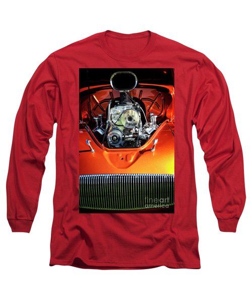 Long Sleeve T-Shirt featuring the photograph Muscle Engine by Scott Kemper