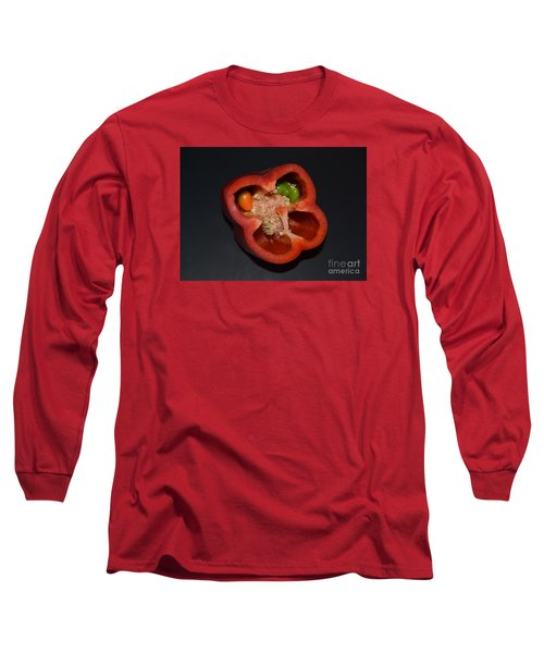 Long Sleeve T-Shirt featuring the photograph Mutant Pepper by Melvin Turner