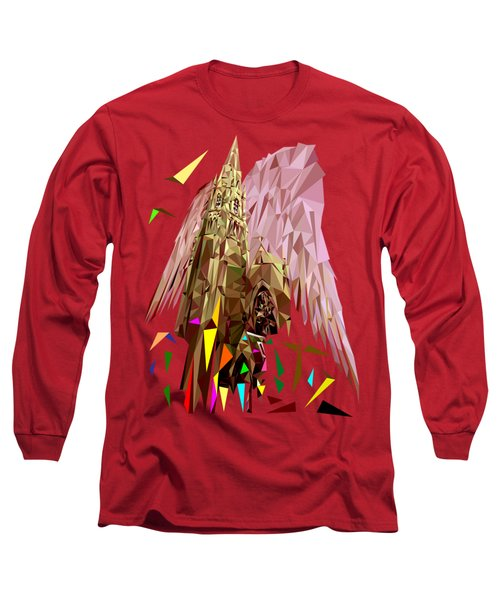My Church, My Angel, My God Long Sleeve T-Shirt