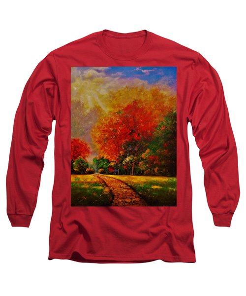 My Favorite Park Long Sleeve T-Shirt by Emery Franklin