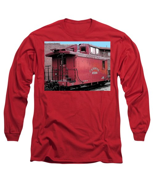 My Little Red Caboose Long Sleeve T-Shirt