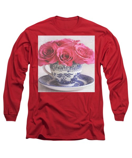 Long Sleeve T-Shirt featuring the photograph My Sweet Charity by Lyn Randle