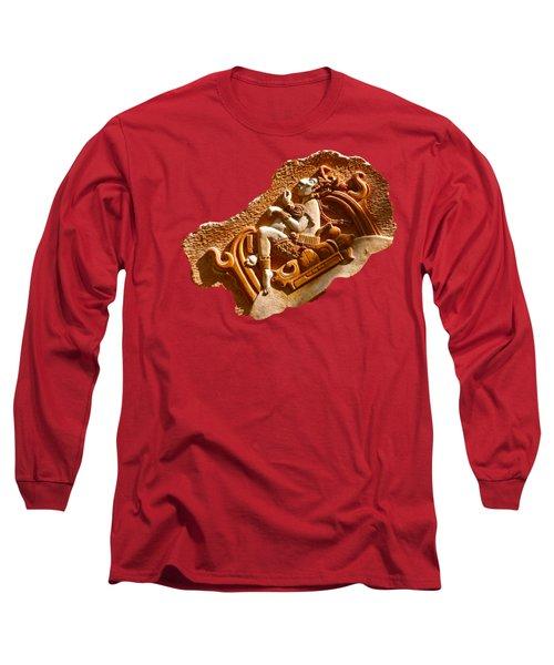 Myan Wall Art D Long Sleeve T-Shirt