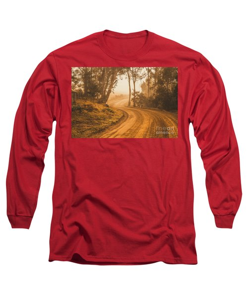 Mysterious Autumn Trail Long Sleeve T-Shirt