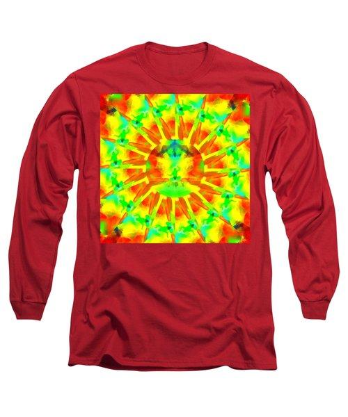 Long Sleeve T-Shirt featuring the digital art Mystic Universe Kk 9 by Derek Gedney