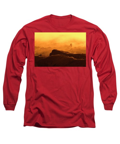 mystical view from Mt bromo Long Sleeve T-Shirt