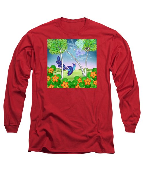 N Is For Nightingale Long Sleeve T-Shirt