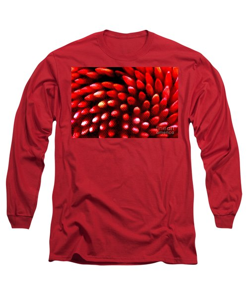 Long Sleeve T-Shirt featuring the photograph Naked Porcupine by Stephen Mitchell