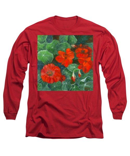 Nasturtiums Long Sleeve T-Shirt
