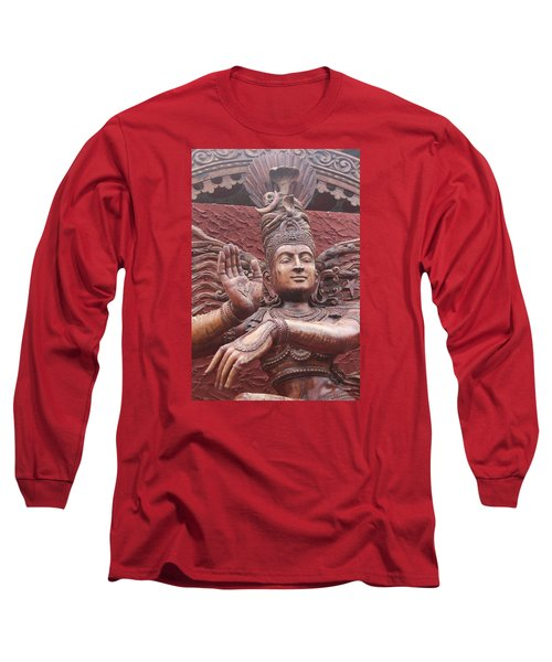 Nataraj, Fort Kochi Long Sleeve T-Shirt by Jennifer Mazzucco