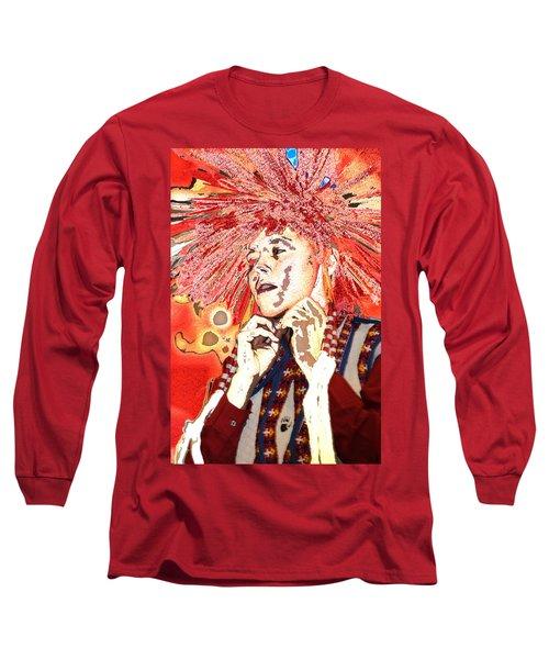 Native Prince Long Sleeve T-Shirt by Audrey Robillard